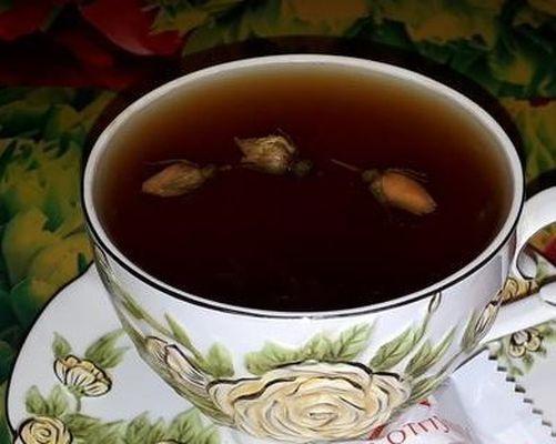 Красный чай с розой. Чайная Лавочка