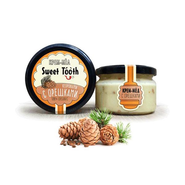 Крем-мёд с орехами
