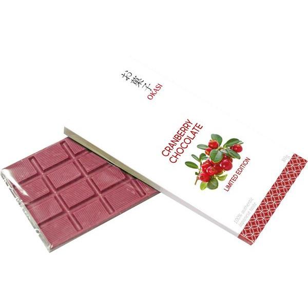 Шоколад с клюквой