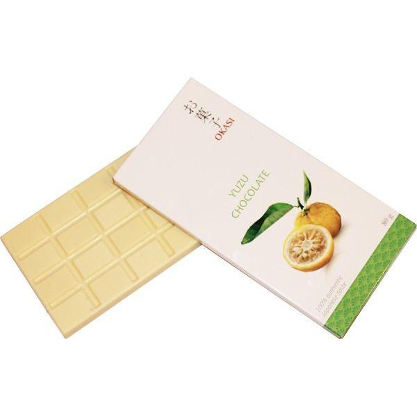 Японский шоколад с юдзу