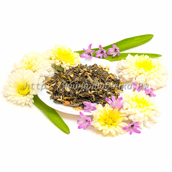 Моли Хуа Ча Зеленый чай с жасмином