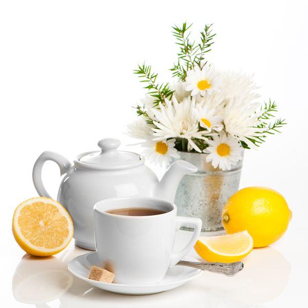 Иван чай с цедрой лимона