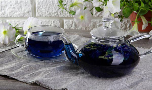 Синий чай. Чайная Лавочка
