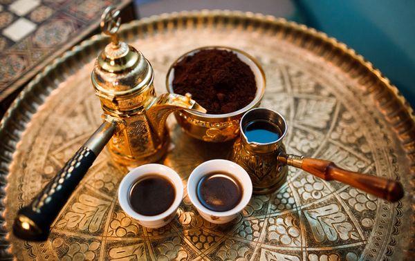 Кофе с кардамоном. Чайная Лавочка