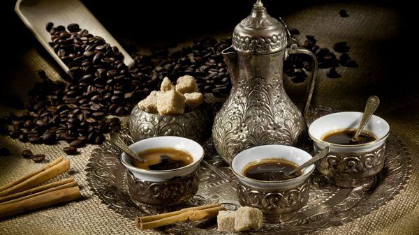 Арабский кофе. Чайная Лавочка