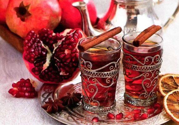 чай из гранатовых цветов